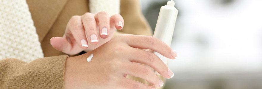 crème hydratante main